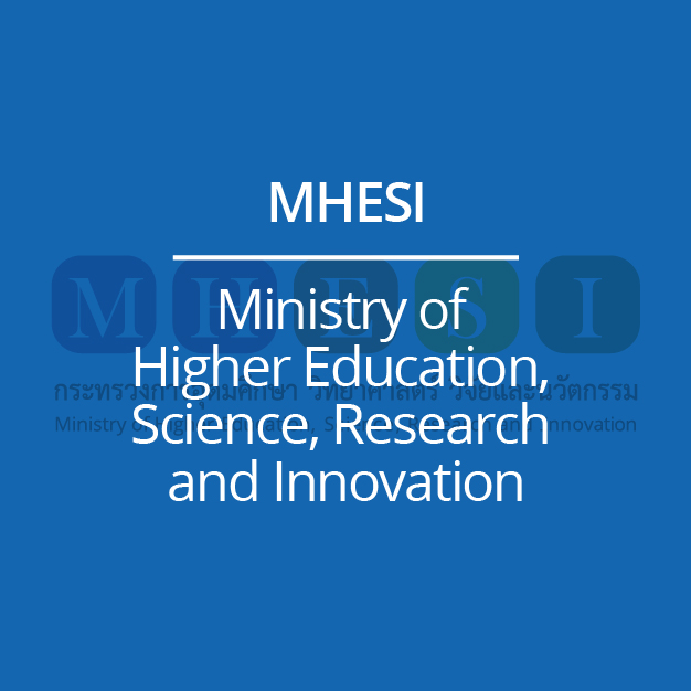 MHESI – Ministry of  Higher Education,  Science, Research  and Innovation